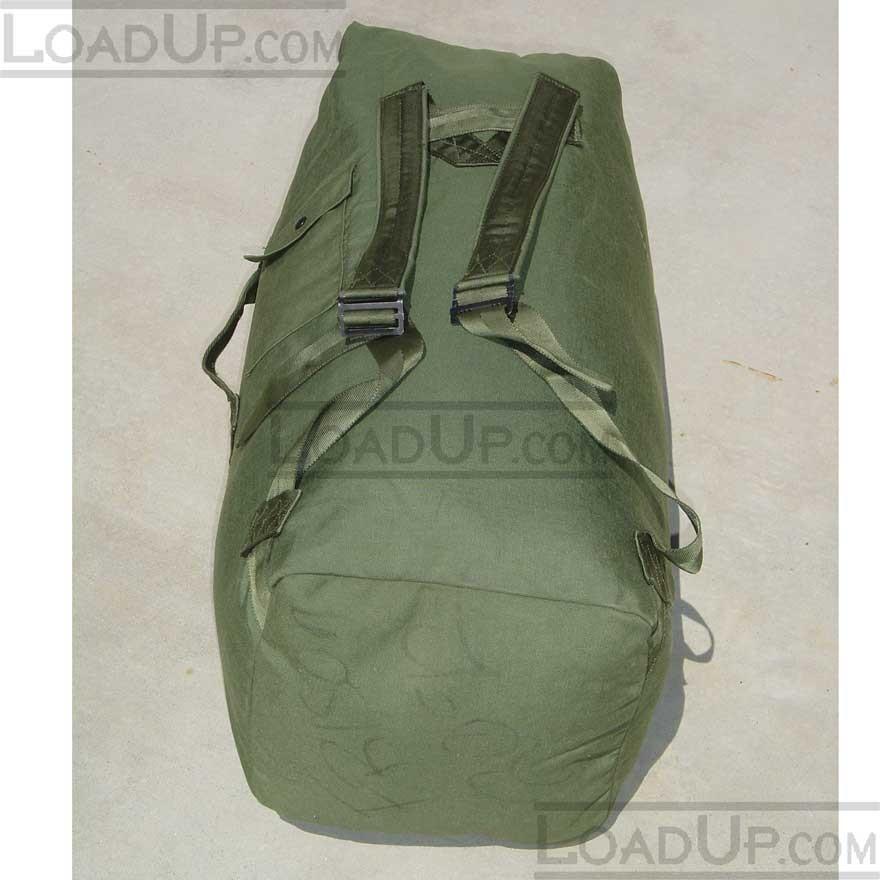 Us Military Cordura Pack Duffle Bag Very Good