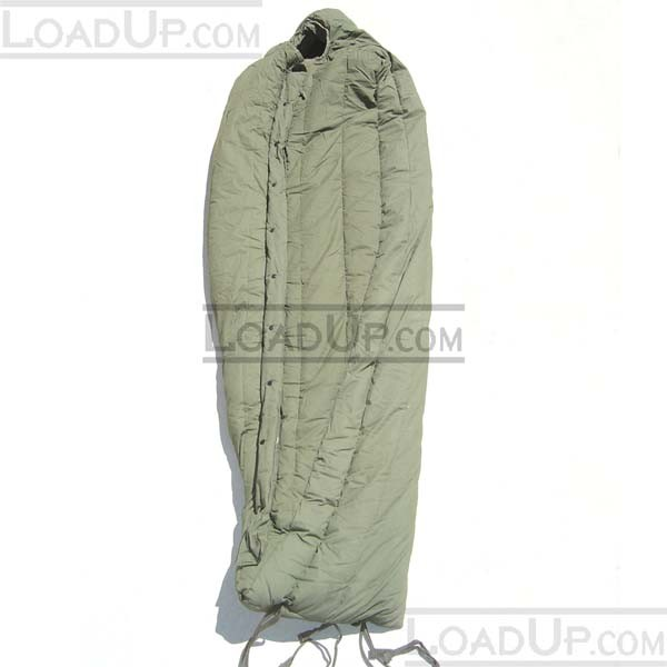 US Mil Extreme Cold Weather Sleeping Bag OD Used