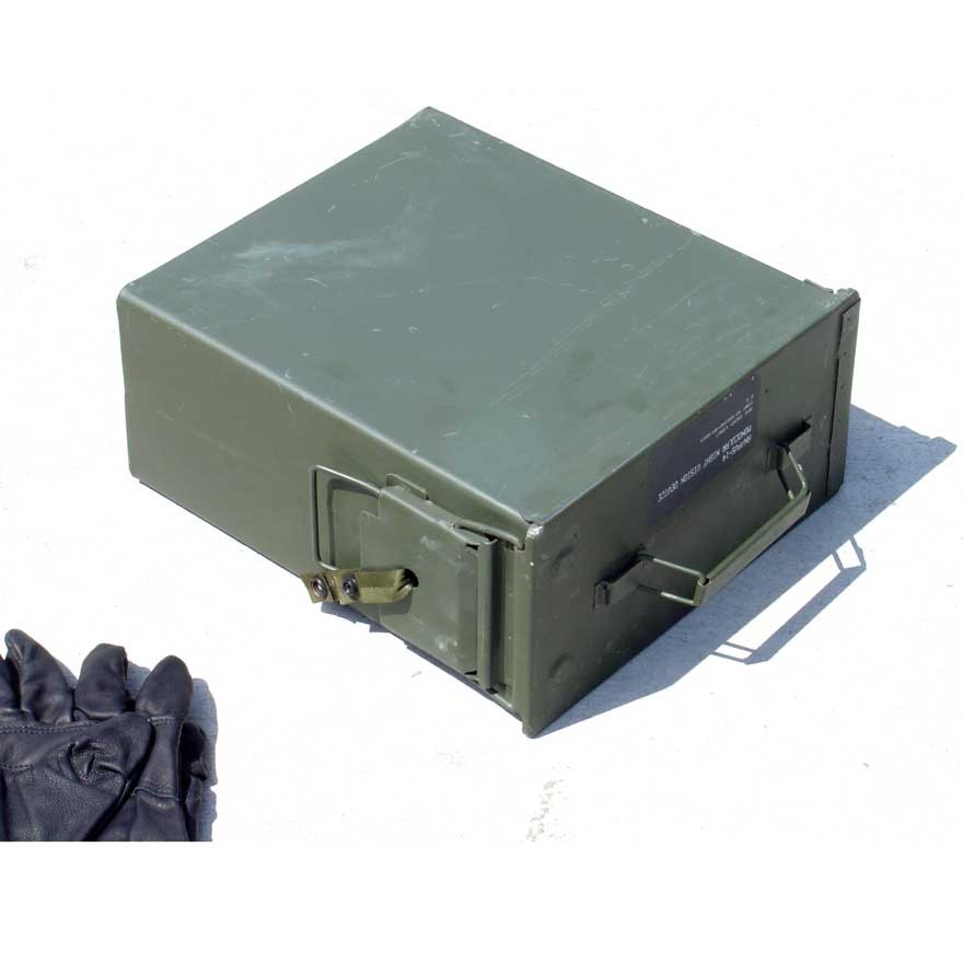 50 cal. Steel Ammo Can (Tall Padded) Lever Lock Lid