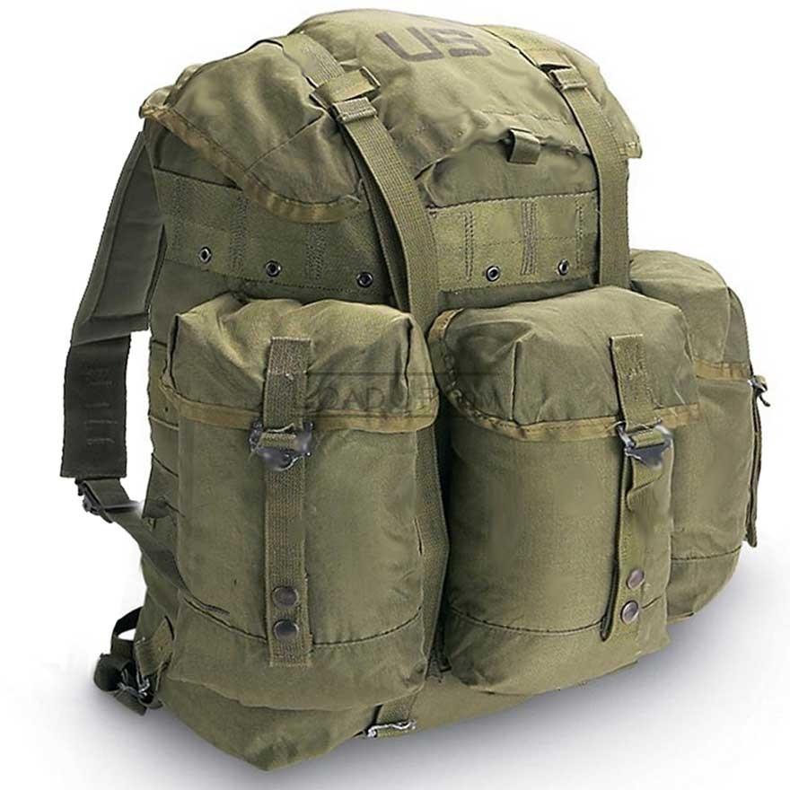 US GI Military Alice LC2 Medium Backpack (Olive) w/Frame