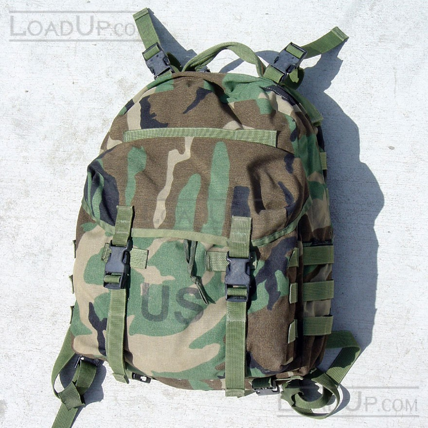 Molle II Patrol Backpack US Military Woodland