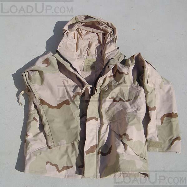 US Military Goretex ECWCS Parka-Desert Camo-Large
