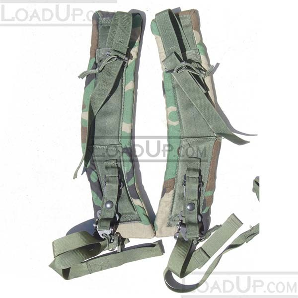 Enhanced US GI LC2 ALICE Shoulder Straps Camo