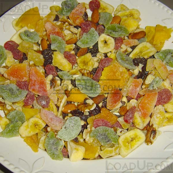 Trail Mix 3.5-LB Dried Sweetened Fruit and Nuts (7280 calories)