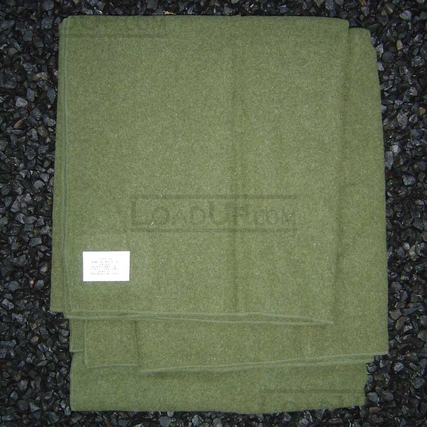 US GI Issued Military 100% Wool Blanket