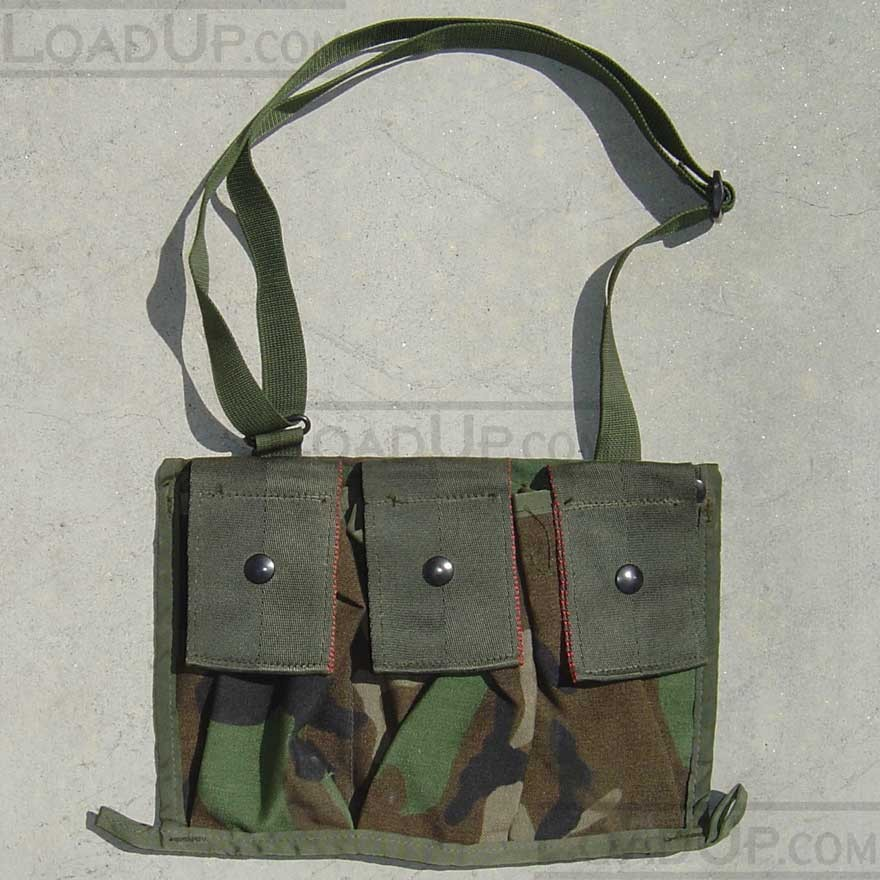 Bandoleer Shoulder Bag for Six 5.56mm Magazines