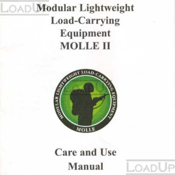 MOLLE II Care and Use Manual