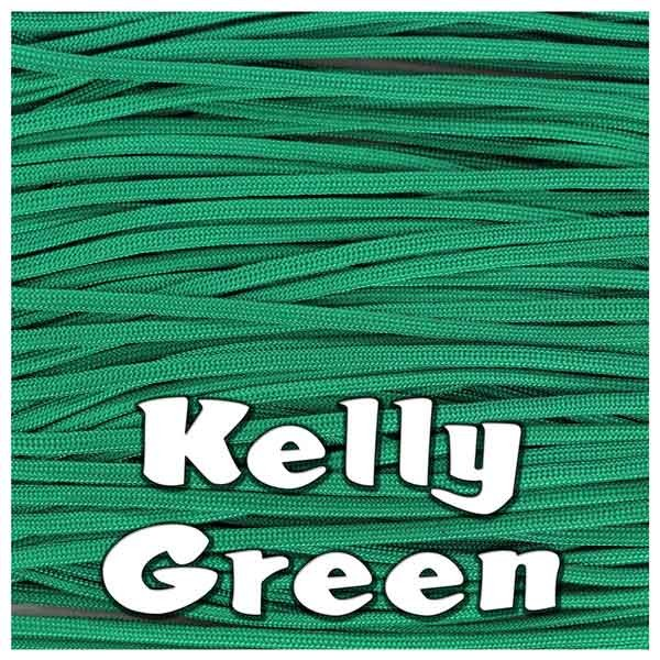 KELLY GREEN 550 PARACORD USA Military 7 Strand Type III