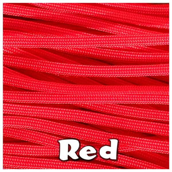 RED 550 PARACORD USA Military 7 Strand Type III
