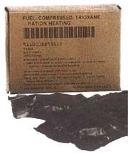 Trioxane Solid Compressed Fuel (3 Bars)