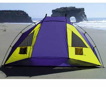 Zephyr Cabana Half Shelter Shade Tent
