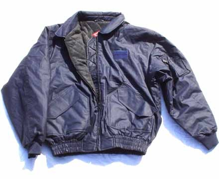 US Mil. Style CW45P Flight Unisex Jacket Navy Blue