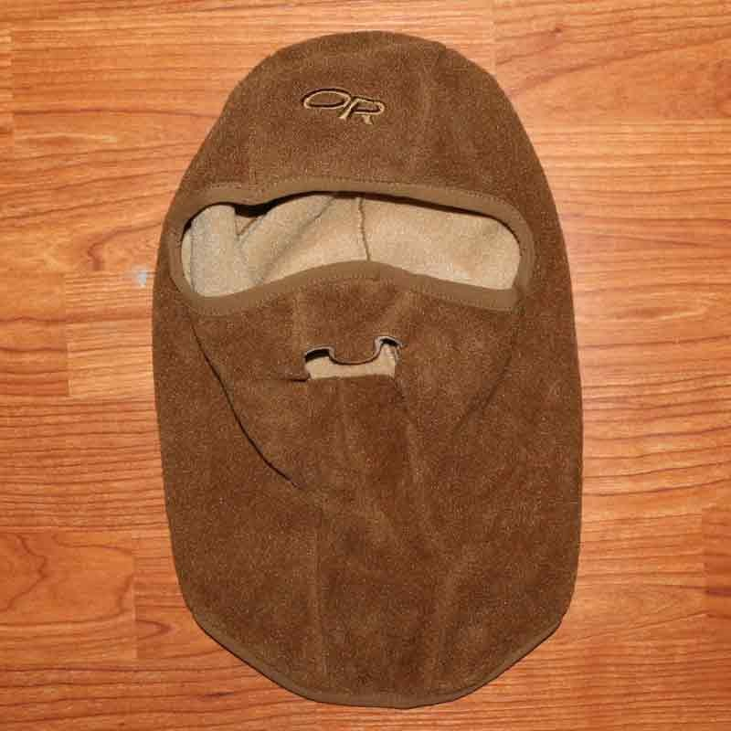 US GI Outdoor Research WindStopper Balaclava Brown 83240 Large