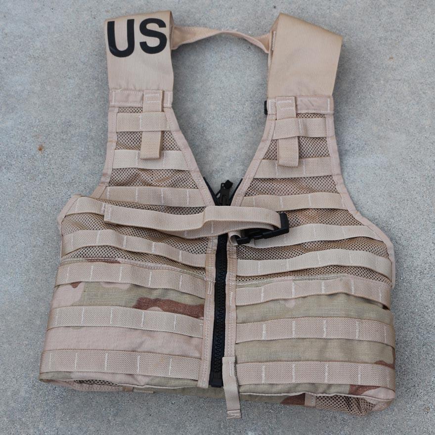 U.S. Military-issue M.O.L.L.E. Load-bearing Vest, Tactical