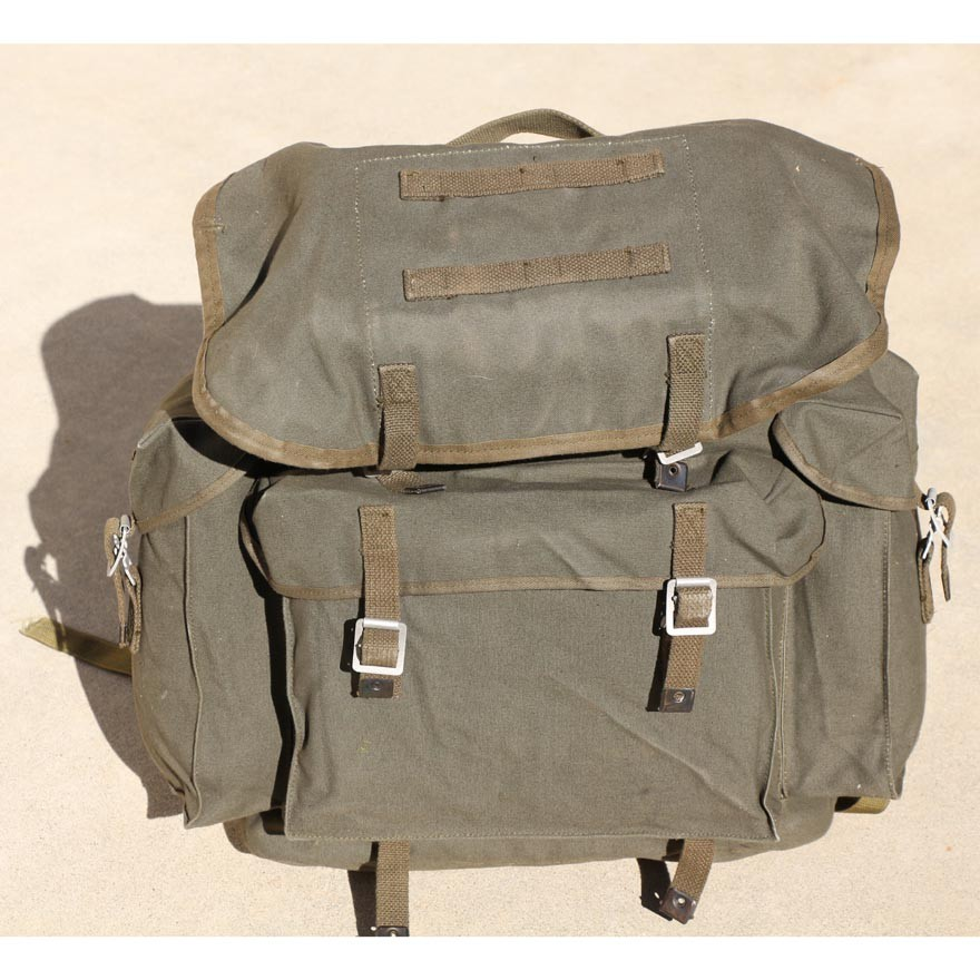 German NATO Canvas Rucksack with Alice Straps