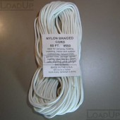 550 Paracord Military White 50ft 7 Strand Type III