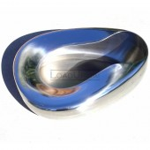 Stainless Steel Countour Bedpan, Adult 14 x 11
