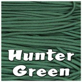 HUNTER GREEN 550 PARACORD USA Military 7 Strand Type III
