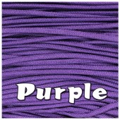 PURPLE 550 PARACORD USA Military 7 Strand Type III