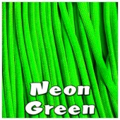 NEON GREEN 550 PARACORD USA Military 7 Strand Type III