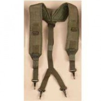 U.S. Military Y LC-1 Harness Suspenders for Pistol Belt