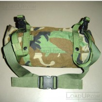 US Military MOLLE Waist/Butt Pack Woodland