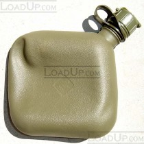 US GI Two Quart Collapsible Bladder Canteen Olive M1