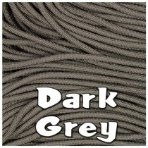 DARK GREY 550 PARACORD USA Military 7 Strand Type III