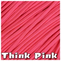 THINK PINK 550 PARACORD USA Military 7 Strand Type III