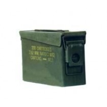 Authentic US Military Surplus Metal .30 cal. Steel Ammo Can