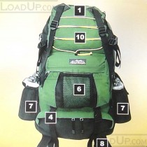 Trail Blazer Ripstop Backpack 2400 cu in NEW