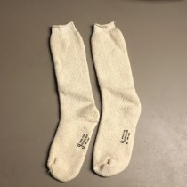 US Military Army Wool Socks White (Size 9)