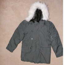 Authentic N-3B Flight Jacket Parka Cold Weather Military Flight