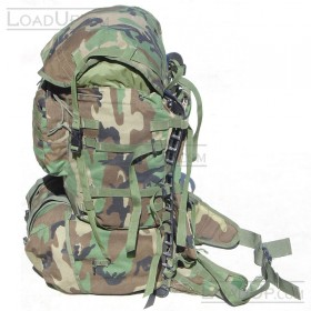 US Military MOLLE II Rifleman Backpack set (2 bag) Woodland Camo