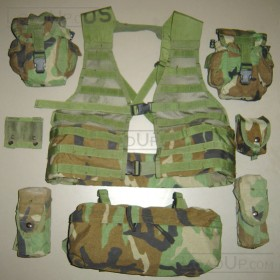 Molle II Fighting Load Carrier Vest (8 part)