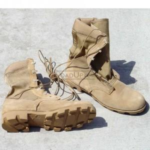 Wellco Calvas Desert Tan Combat Boots