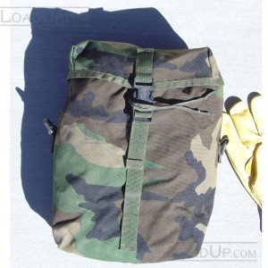 US Military MOLLE II Sustainment Pouch Woodland