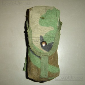 Molle II Double Mag Pouch Woodland Camo