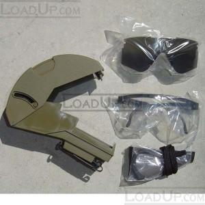 US Military Ballistic Shooting Safety Glasses SPECS Kit