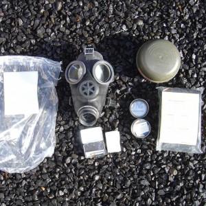 German Gas Mask Kit