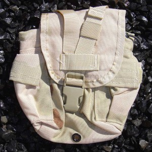 US GI Military MOLLE II  1 Quart Canteen Pouch/Cover DCU