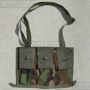 Bandoleer Shoulder Bag for Six 5.56mm Magazines