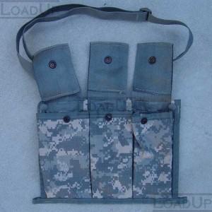 Bandoleer Shoulder Bag for Six 5.56mm Magazines ACU
