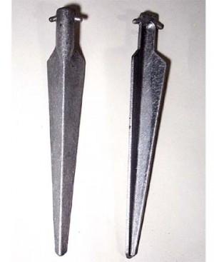Pair of Nato Aluminum Angle V-Stake (11 1/4 inch)