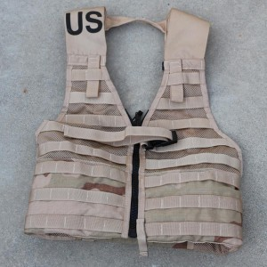 U.S. Military-issue M.O.L.L.E. Load-bearing Vest, Tactical