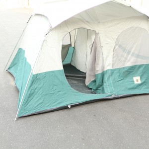 Montana Cabin Dome Tent 12 by 8 ft - Two Room