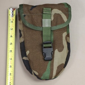 US Army Woodland MOLLE Entrenching E-tool Shovel Cover / Case / Carrier