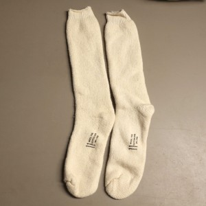 US Military Army Wool Socks White (Size 11)