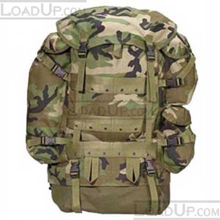 CFP 90 Military Woodland Field Backpack and Patrol