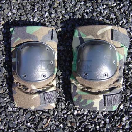 Knee Pads All Terrain Tactical Woodland Camo